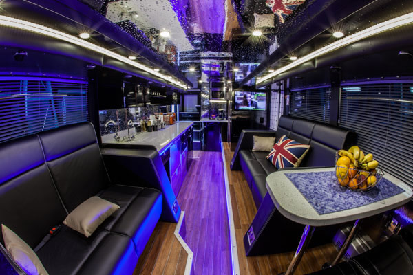 Entertainer Tour Bus Rental Nashville