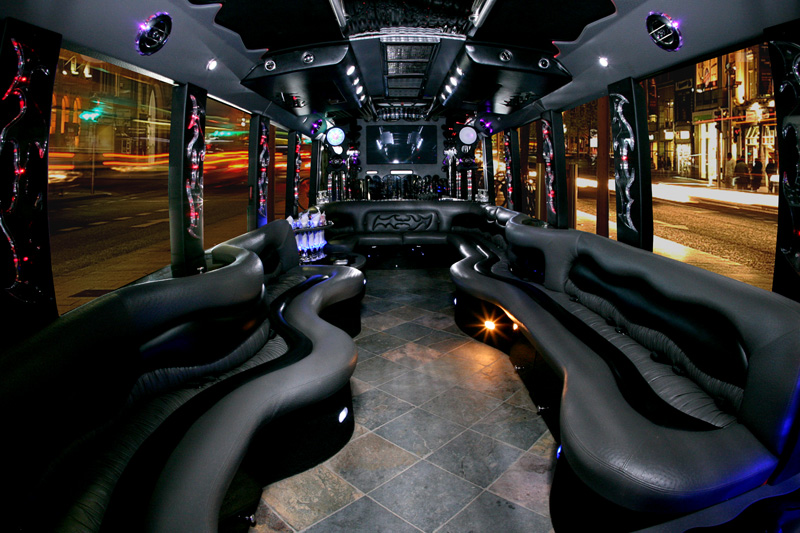 Limo And Party Bus Rental Service Usa Bus Charter